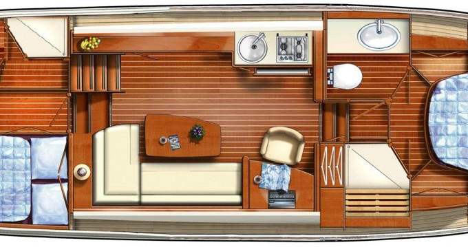 Boat rental Linssen Linssen 34.9AC in Tonnerre on Samboat