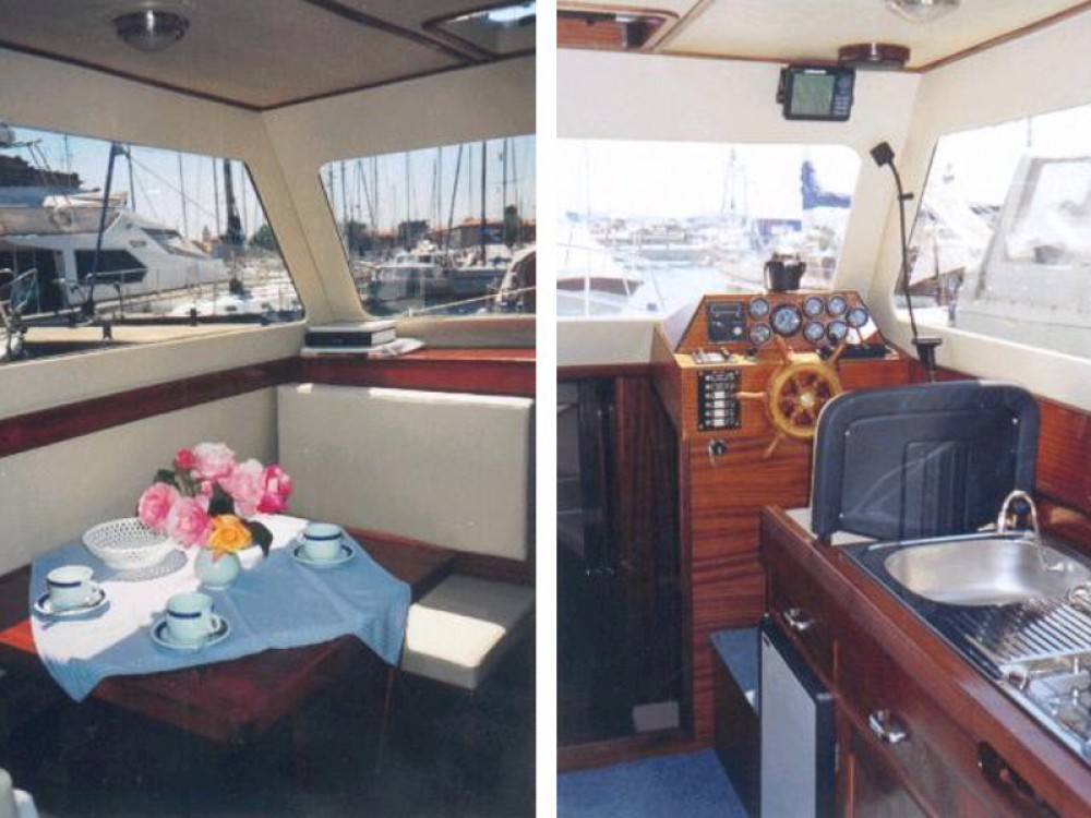 Motor boat for rent Brbinj at the best price
