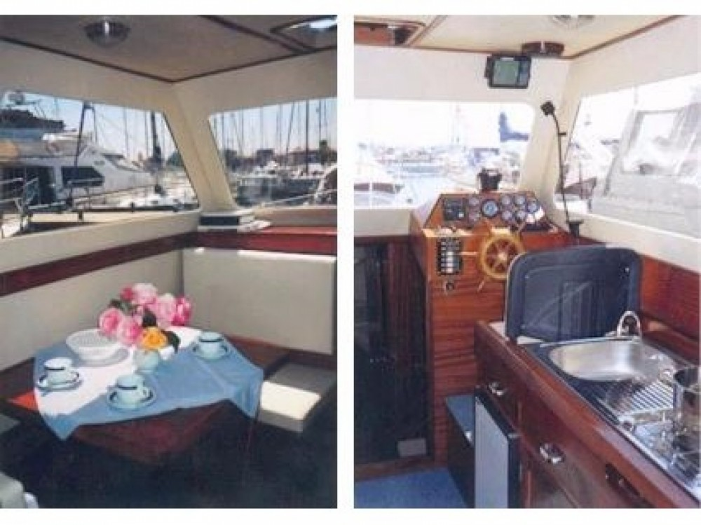 Location bateau Sas Vektor Adria 28 Luxus à Brbinj sur Samboat