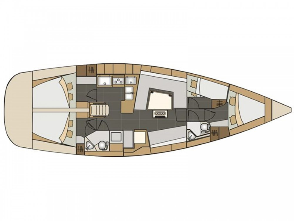Location yacht à Μαρίνα Αλίμου - Elan Elan 45 sur SamBoat