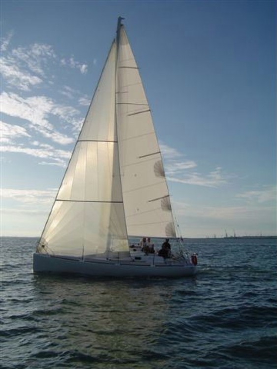 Noleggio Barca a vela Olea-Composites con un permesso di