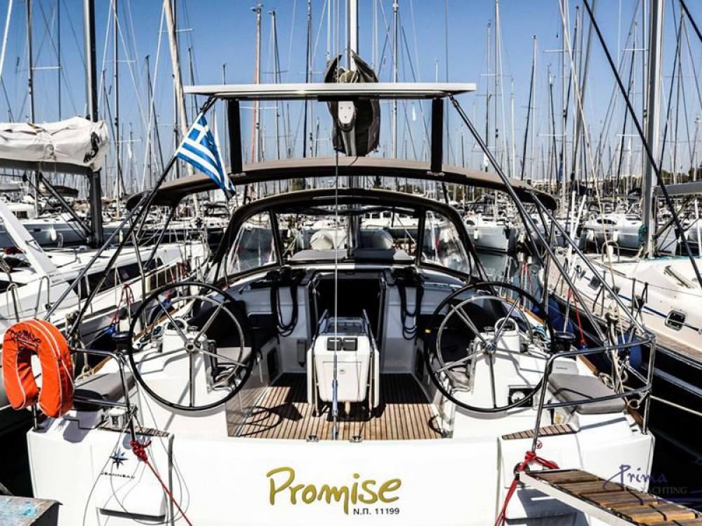 Rental Sailboat in Alimos Marina - Jeanneau Sun Odyssey 509 (2015 )( FULL REFIT 2020 - A/C,GENERATOR,INVENTER )