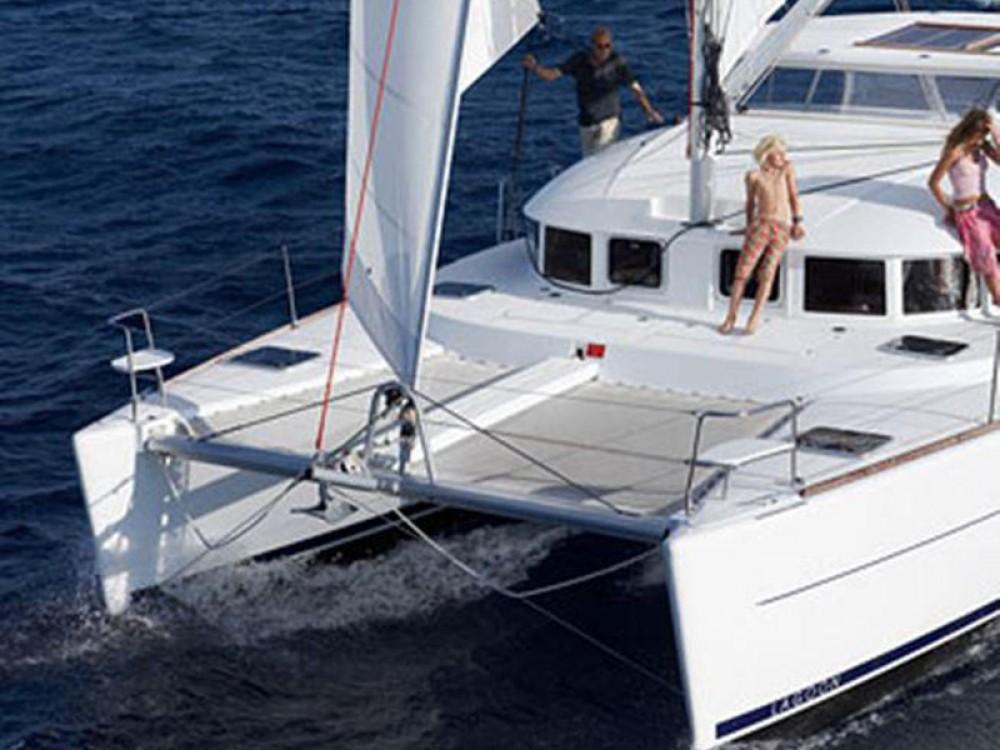 Rent a Lagoon Lagoon 380 ( INVENTER ) Alimos Marina