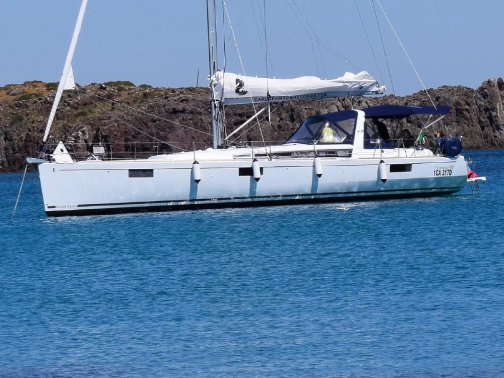 Location yacht à U Pàize/Carloforte - Bénéteau Oceanis 48 sur SamBoat