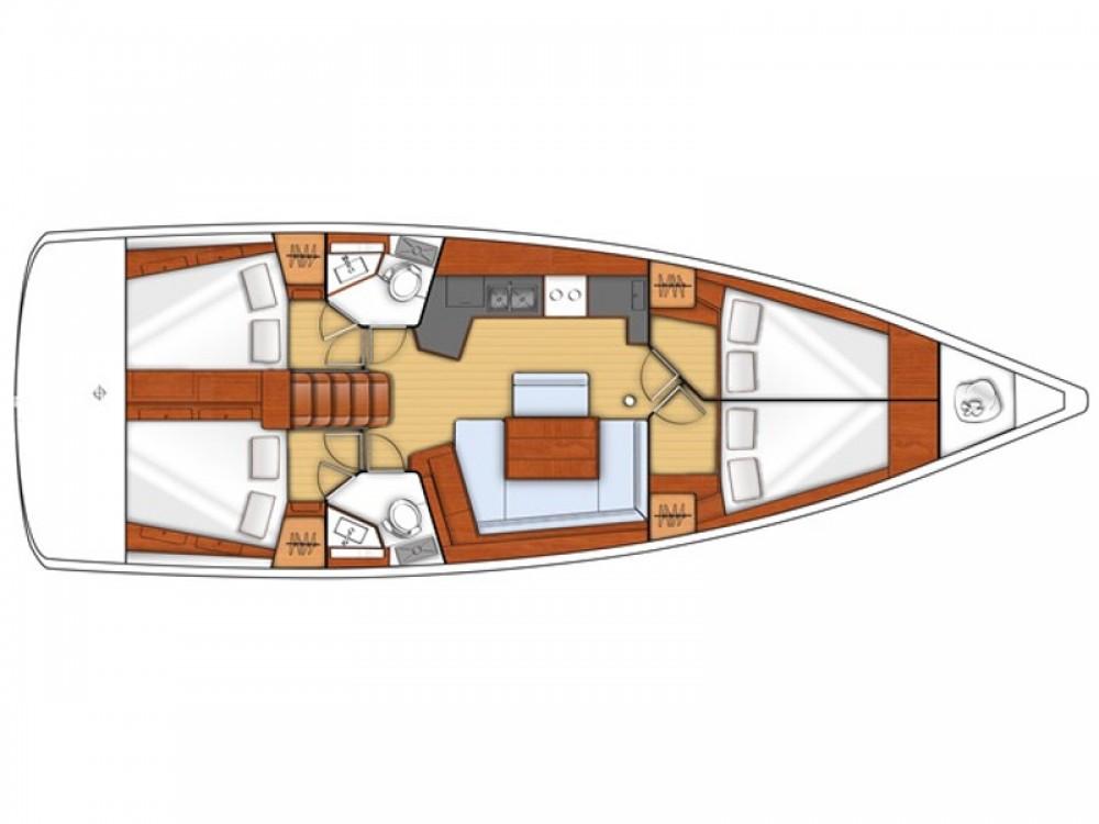 Noleggio barche Carloforte economico Oceanis 45