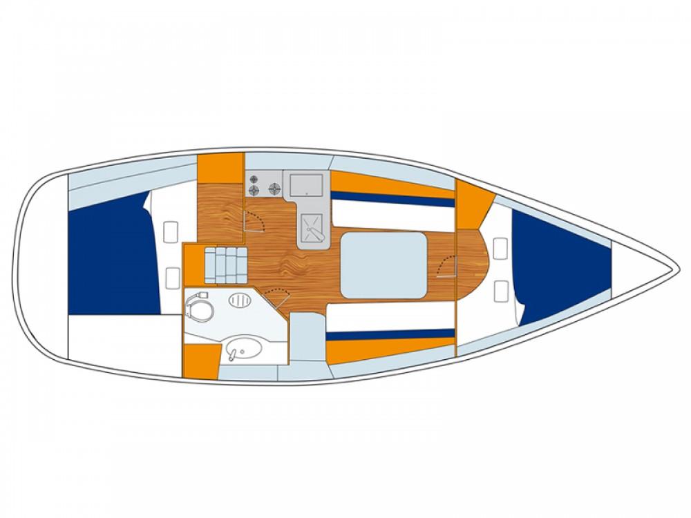 Noleggio barche Bénéteau Oceanis Carloforte su Samboat