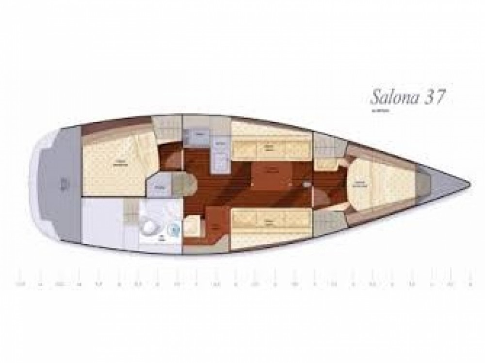 Location yacht à U Pàize/Carloforte - Salona Salona 37 sur SamBoat