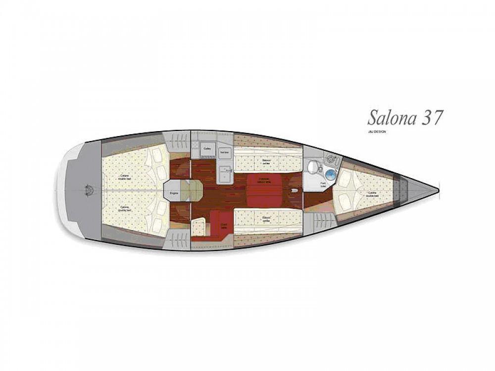 Salona Salona 37 entre particuliers et professionnel à U Pàize/Carloforte