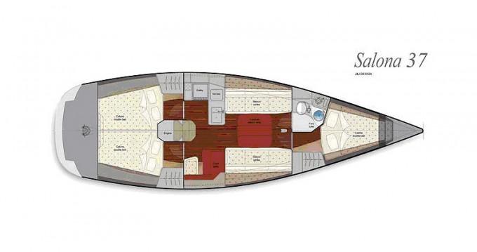 Salona Salona 37 tra personale e professionale Carloforte