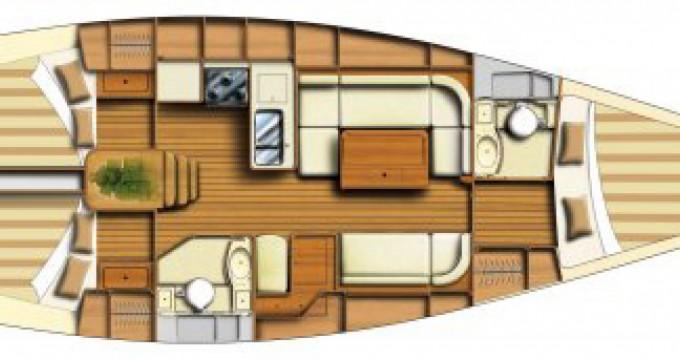 Noleggio barche Carloforte economico Dufour 40