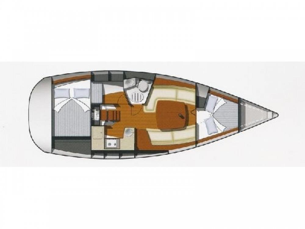 Location bateau Jeanneau Sun Odyssey 32 à Noord-Beveland sur Samboat