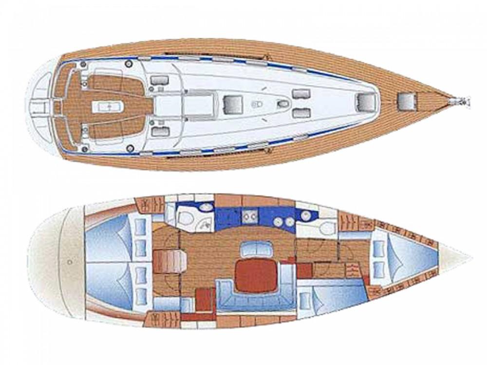 Location bateau ACI Marina Trogir pas cher Bavaria 44