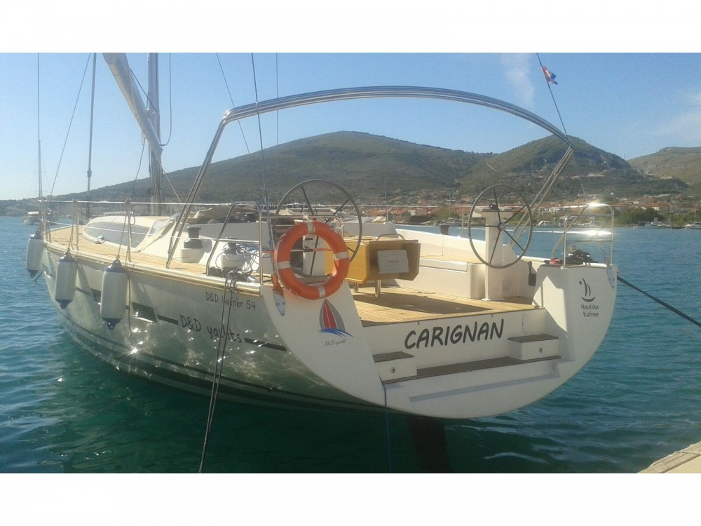 Location bateau D&d D&D Kufner 54.1 à ACI Marina Trogir sur Samboat