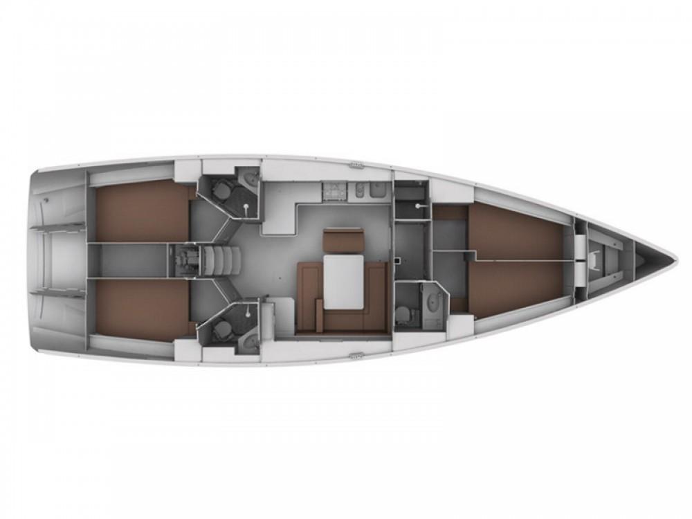 Location bateau ACI Marina Trogir pas cher Cruiser 45