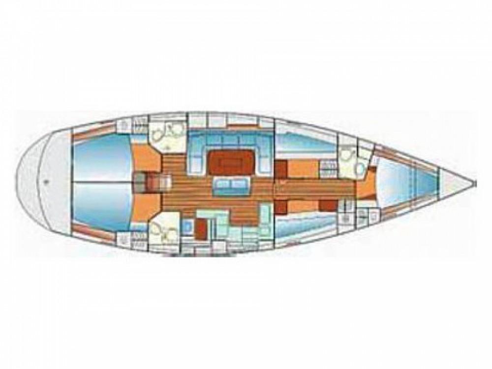 Louez un Bavaria Cruiser 50 à ACI Marina Split