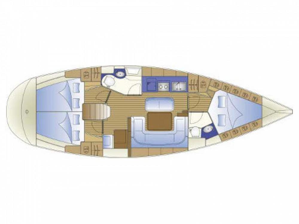 Location bateau Bavaria Bavaria 41 à ACI Marina Trogir sur Samboat