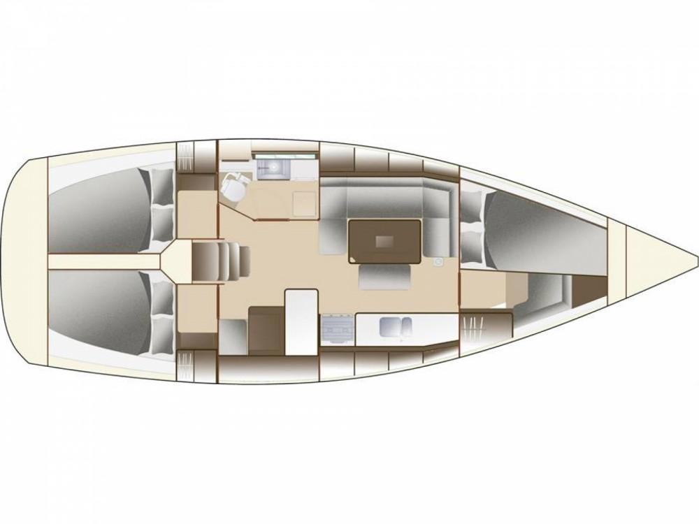 Location bateau Dufour Dufour Grand Large 382 à Ponta Delgada sur Samboat