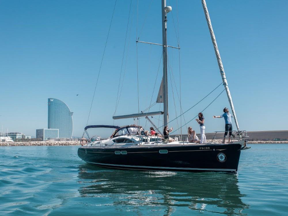 Location yacht à Port Olímpic - Jeanneau Sun Odyssey 54 DS sur SamBoat