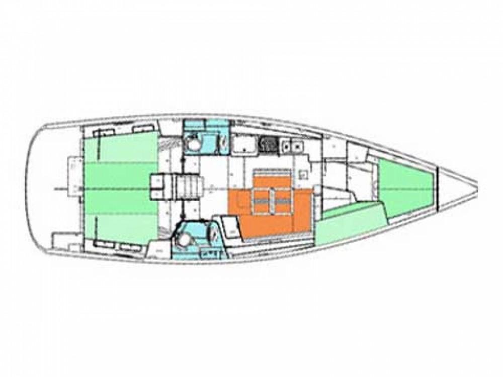 Location Voilier à Port Olímpic - Bénéteau Beneteau Oceanis 43