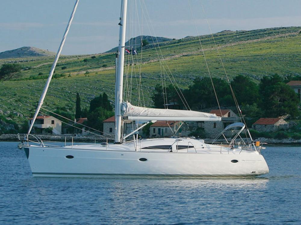Location bateau Elan Elan 434 Impression à Port Olímpic sur Samboat