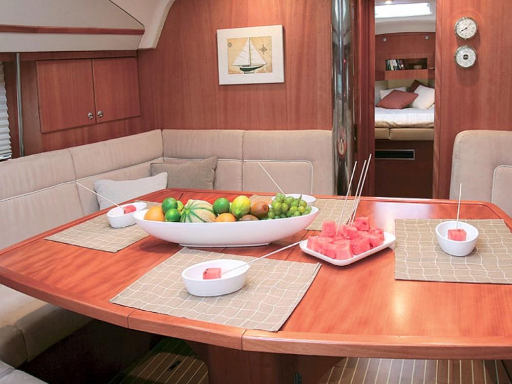 Location bateau Port Olímpic pas cher Elan 434 Impression