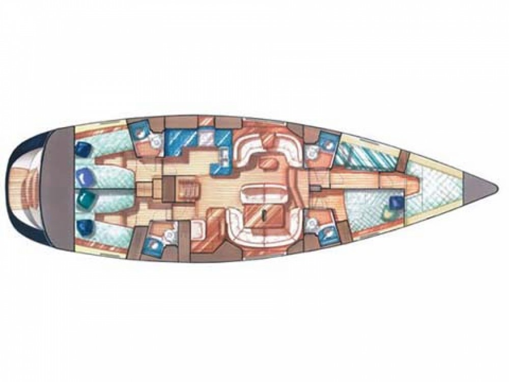 Location yacht à Palma - Jeanneau Jeanneau Sun Odyssey 54DS sur SamBoat