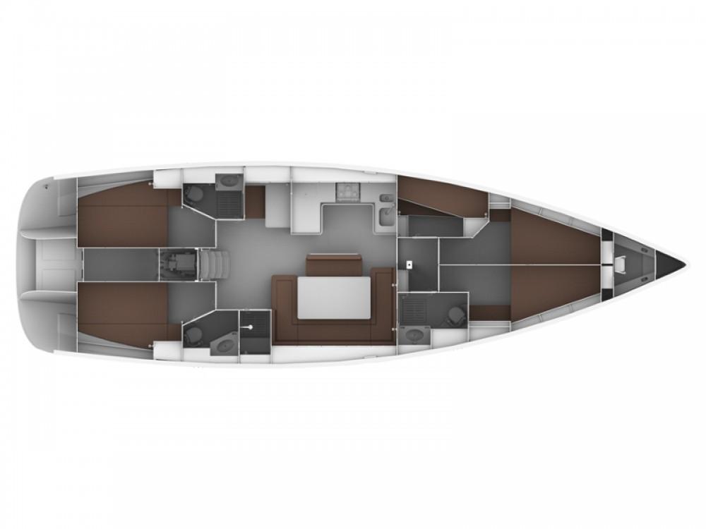 Location Voilier à Follonica - Bavaria Bavaria Cruiser 50