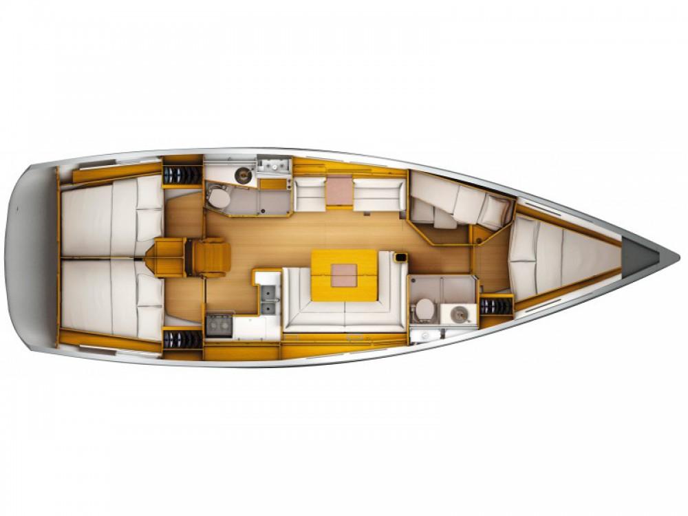 Rental Sailboat in Dénia - Jeanneau Sun Odyssey 449