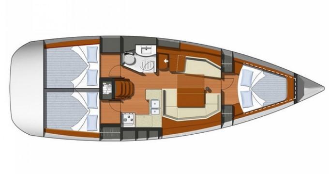 Alquiler Velero en Denia - Jeanneau Sun Odyssey 39i