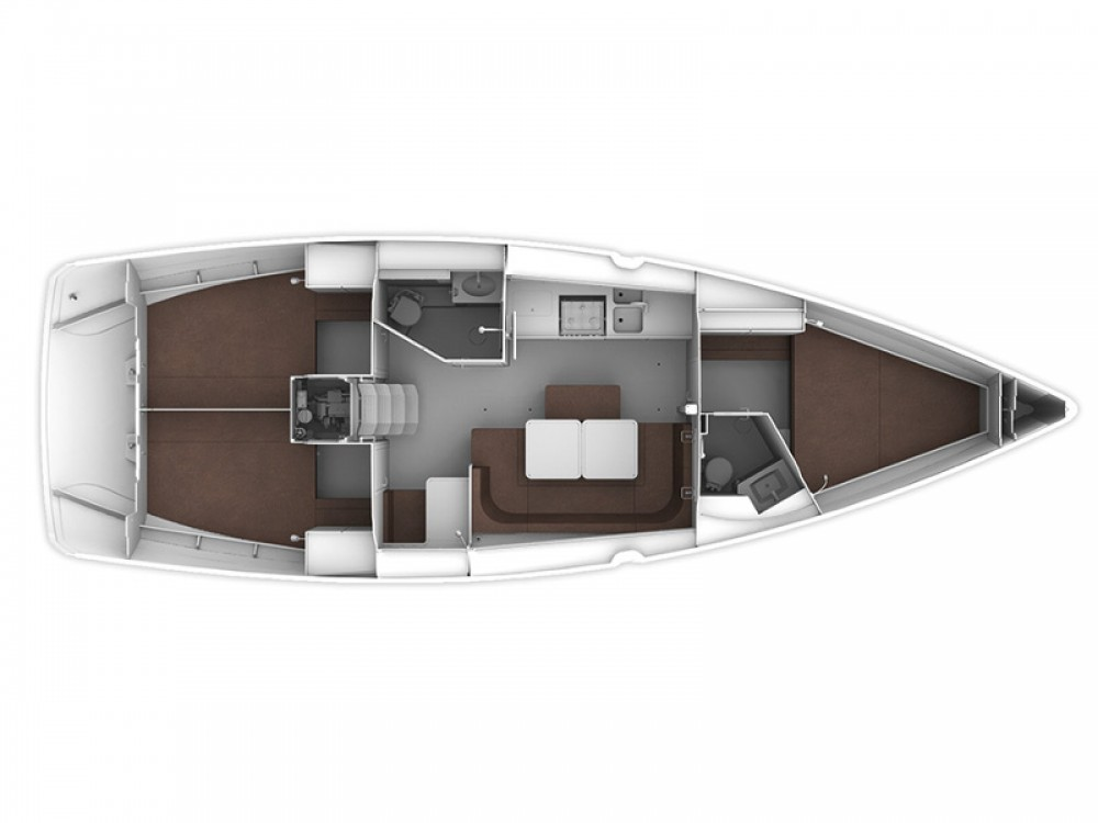 Bavaria Cruiser 41 entre particuliers et professionnel à Castellammare di Stabia