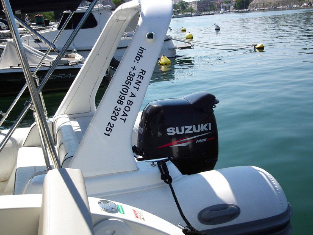Hire Motor boat with or without skipper  Marina Zadar