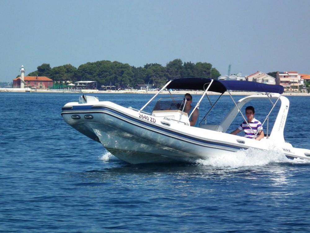 Boat rental Marina Zadar cheap Wav Marine Topline 600