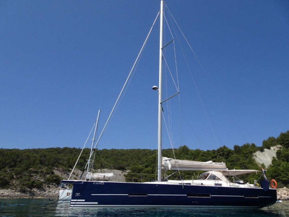 Boat rental Dufour Dufour 56 Exclusive in Primošten on Samboat