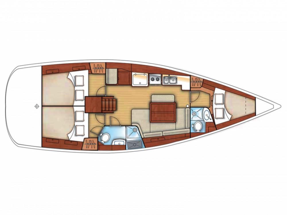 Louez un Bénéteau Oceanis 40 à Marina di Portisco