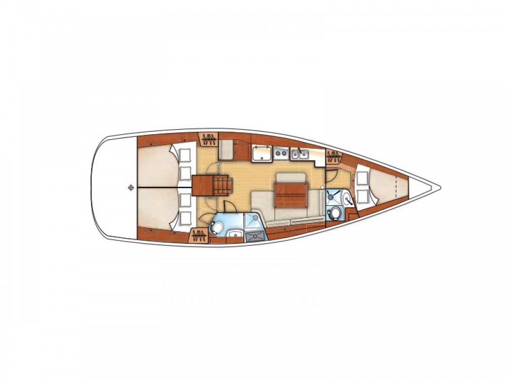Location bateau Marina di Portisco pas cher Oceanis 40