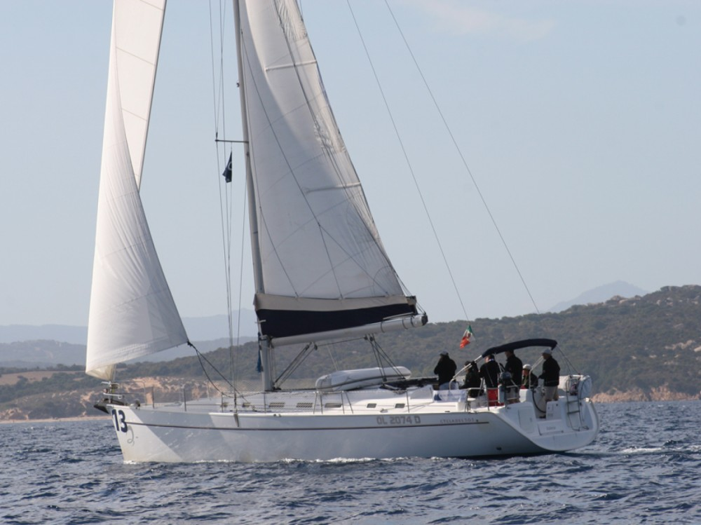 Location bateau Marina di Portisco pas cher Cyclades 50.5