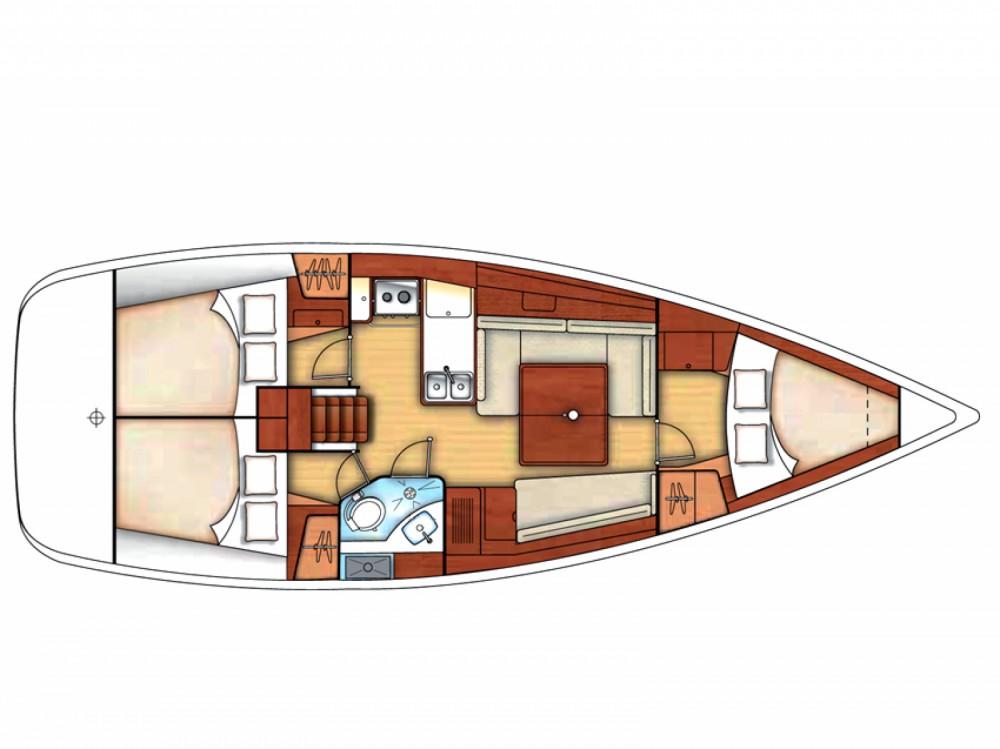 Location bateau Marina di Portisco pas cher Oceanis 37