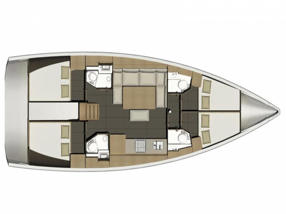 Location bateau Dufour Dufour 460 Grand Large à Marina di Portisco sur Samboat