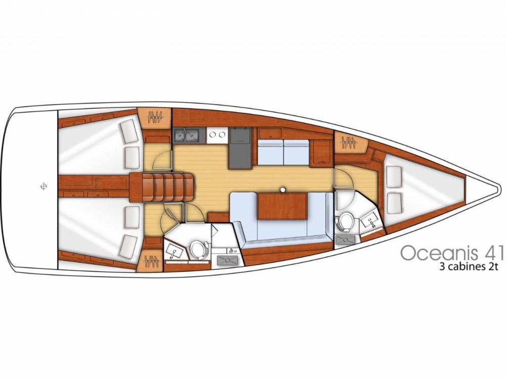 Location bateau Marina de Alimos pas cher Oceanis 41