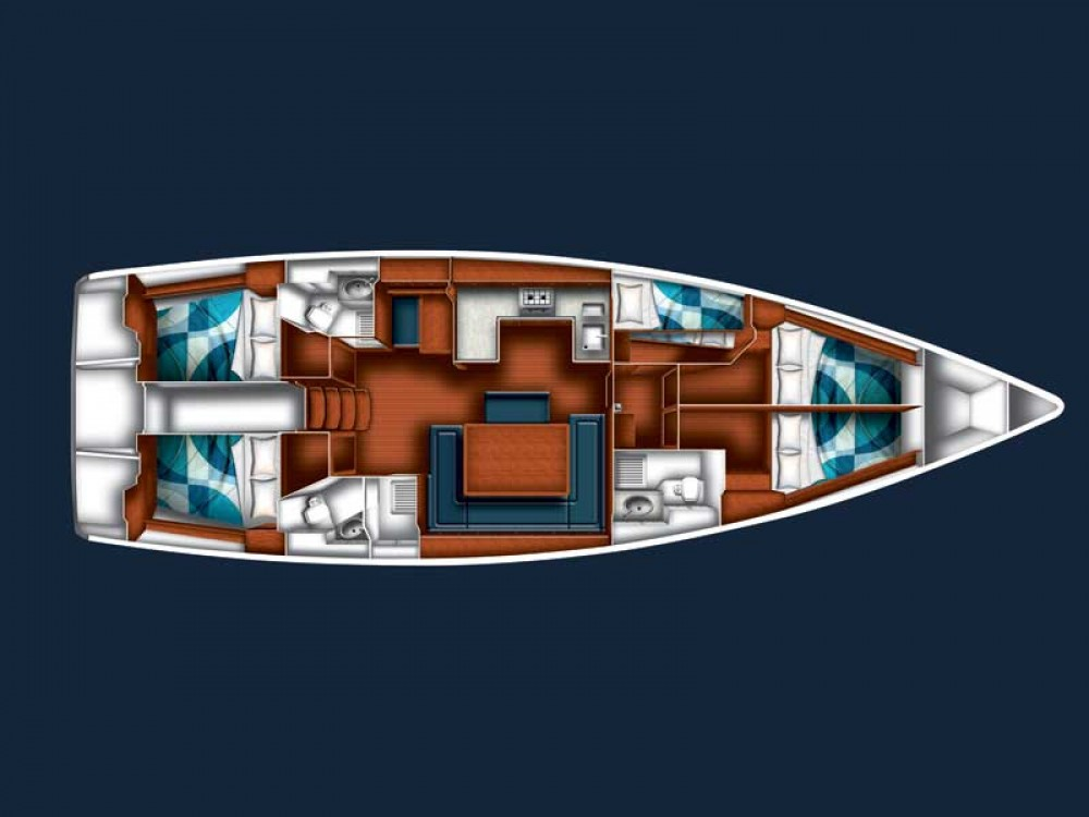 Location bateau Bavaria BAVARIA C 50 BT à Sukošan sur Samboat