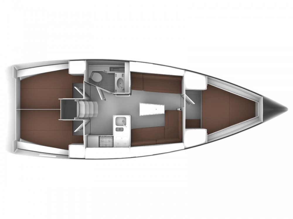 Location bateau Sukošan pas cher BAVARIA C 37 BT