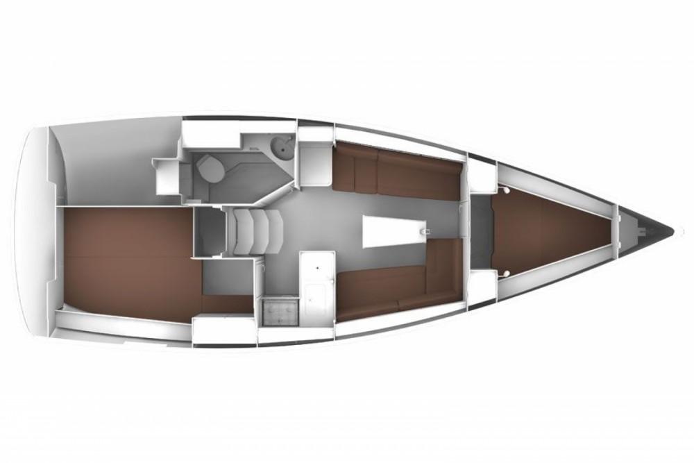 Location bateau Bavaria BAVARIA C 33  à Sukošan sur Samboat