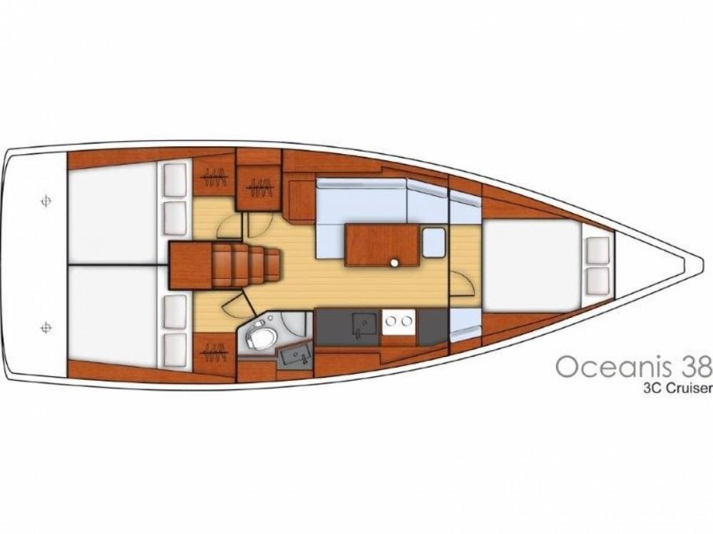 Segelboot mieten in Sukošan - Bénéteau Oceanis 38