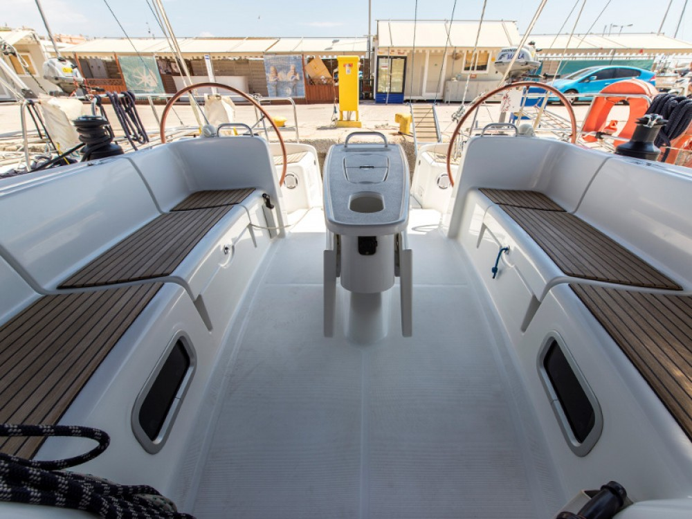Location yacht à Leucade - Bénéteau Cyclades 50.5 sur SamBoat