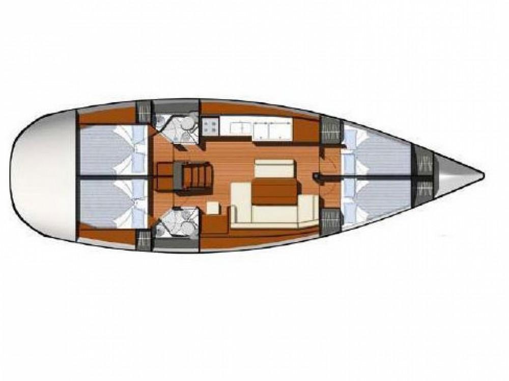 Location yacht à Leucade - Jeanneau Sun Odyssey 44i sur SamBoat