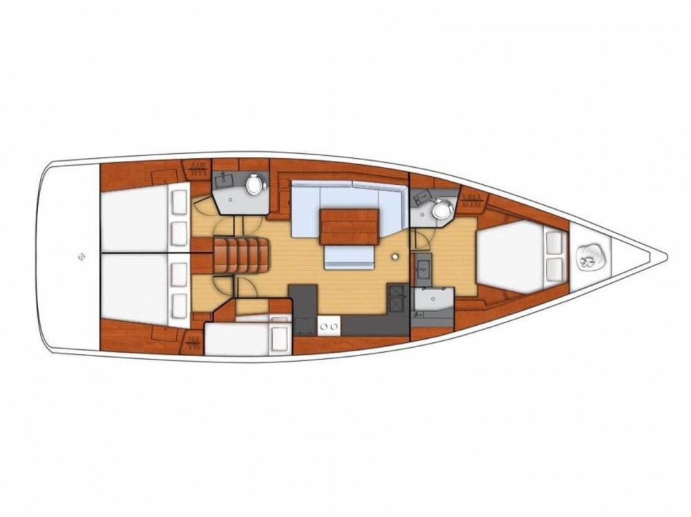 Location bateau ACI Marina Split pas cher Oceanis 48