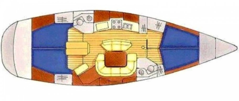Location Voilier à ACI Marina Split - Jeanneau Sun Odyssey 45.2