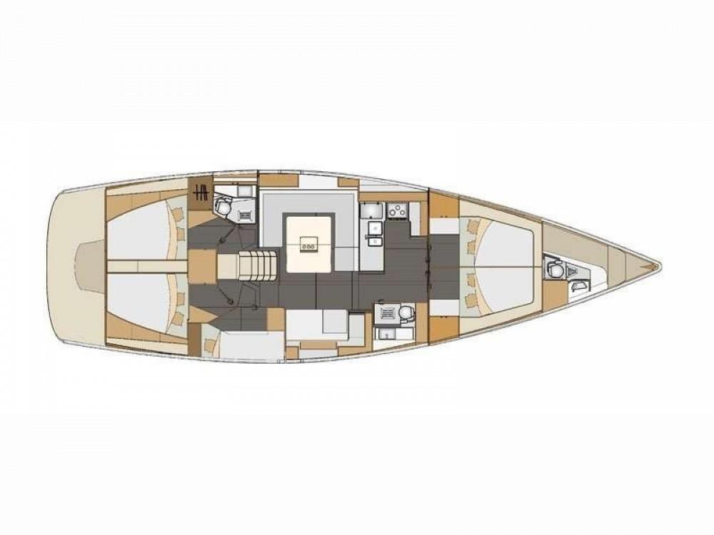 Location yacht à ACI Marina Split - Elan Elan 50 Impression sur SamBoat