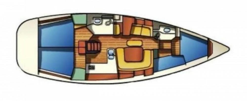 Location yacht à ACI Marina Split - Jeanneau Sun Odyssey 43 sur SamBoat