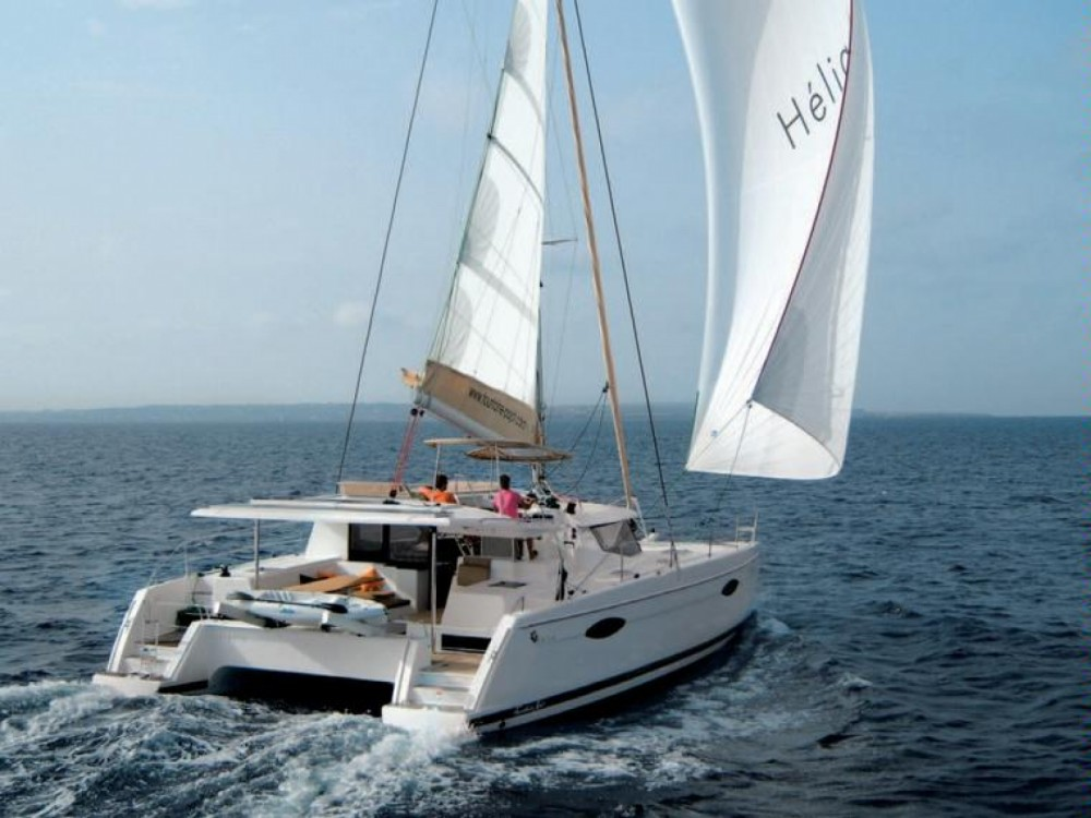 Rent a Fountaine Pajot Helia 44 Le Marin